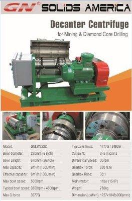 Decanter centrifuge 223